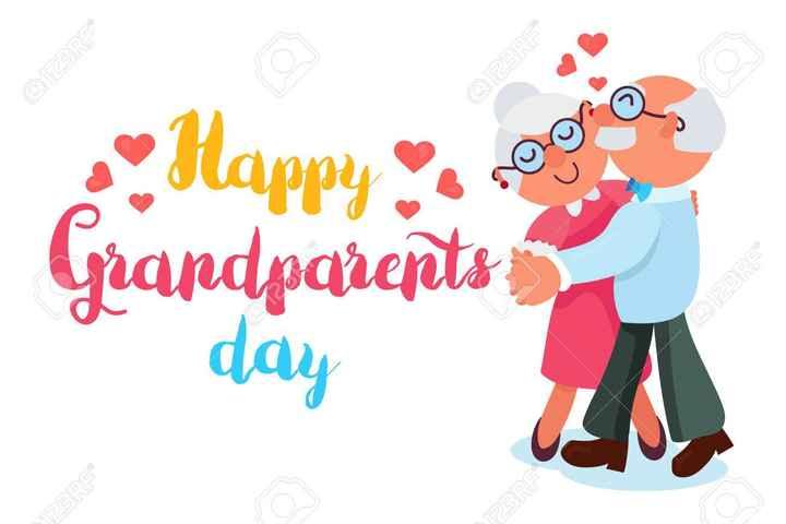 শুভ দিদিমা দিবস 👵 - 103123RF 0123RF Happy ne Grandparents 0123RF day - ShareChat