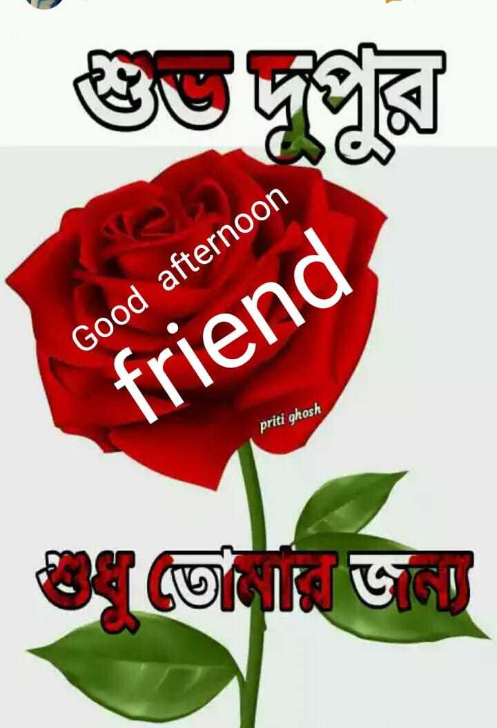 🌝শুভ দুপুর - Good afternoon friend priti ghosh - ShareChat