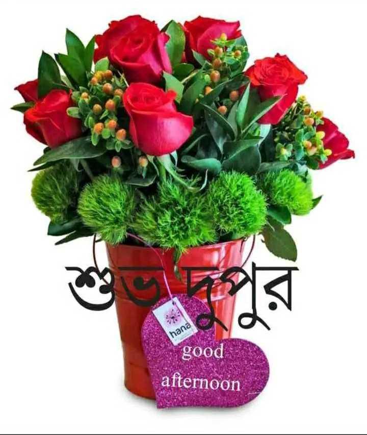 🌝শুভ দুপুর - hana good afternoon - ShareChat