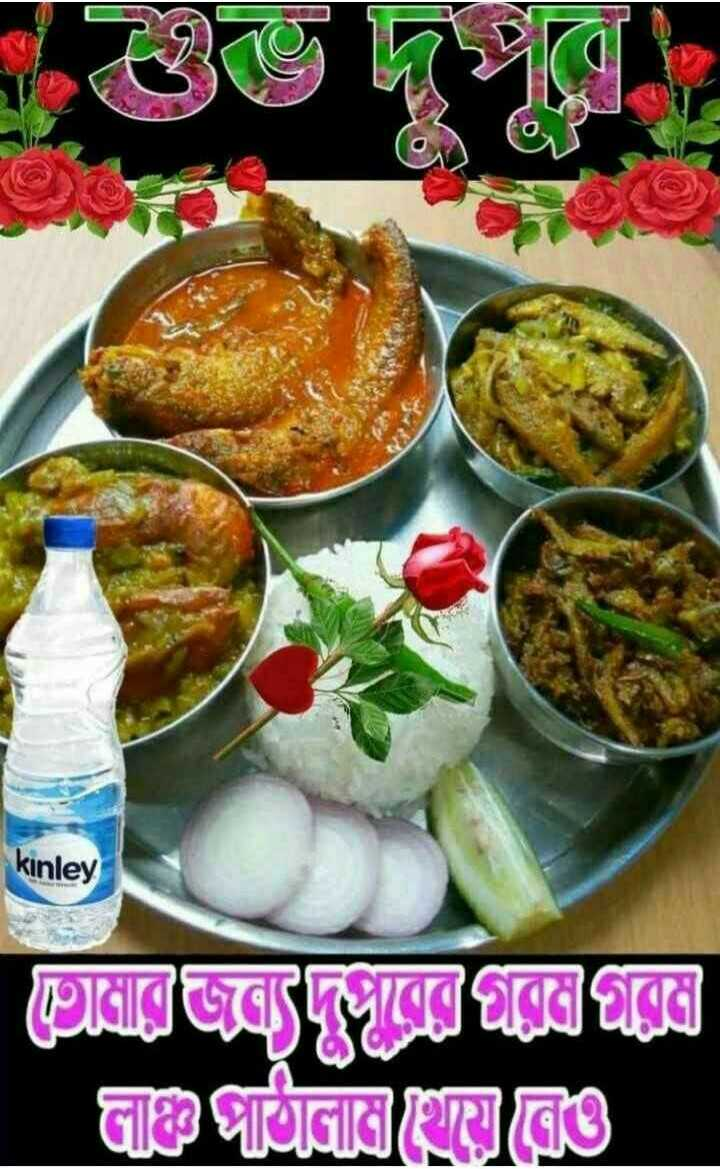🌝শুভ দুপুর - kinley রেজাল্লা ভাজা ভাঙে - ShareChat