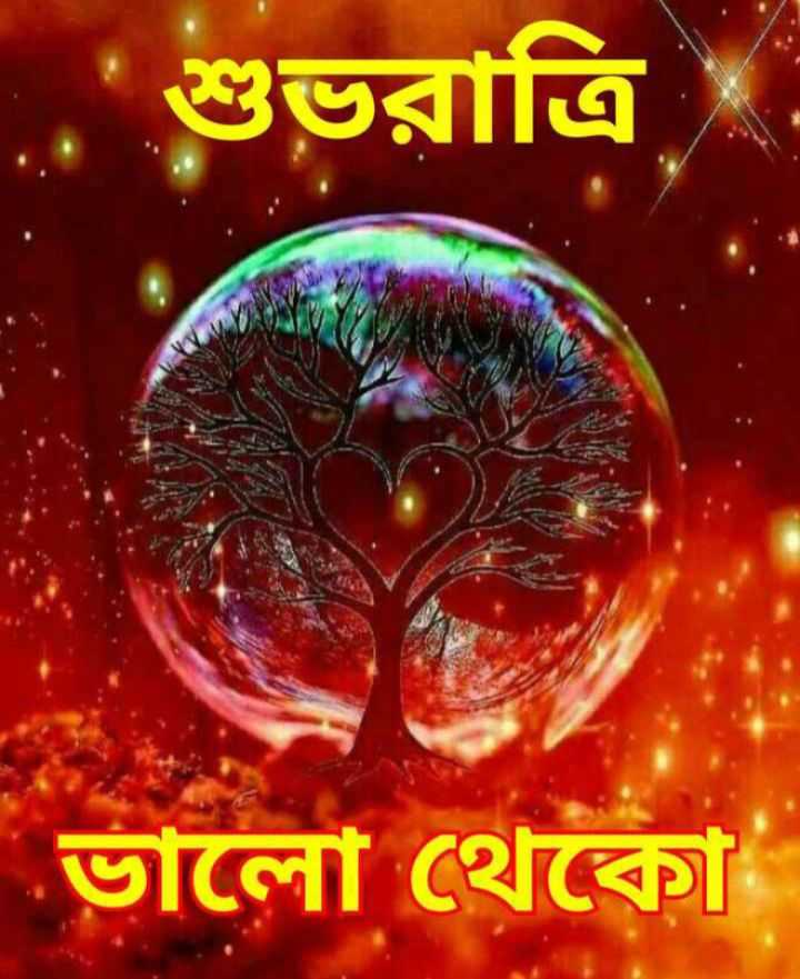 🌑শুভ রাত্রি - . শুভরাত্রি ভালাে থেকো - ShareChat