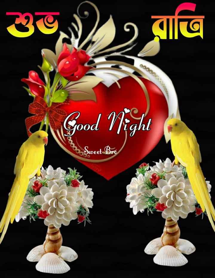 🌑শুভ রাত্রি - শুভ রাত্রি ০০০০C ) Good Night Sweet Bro - ShareChat