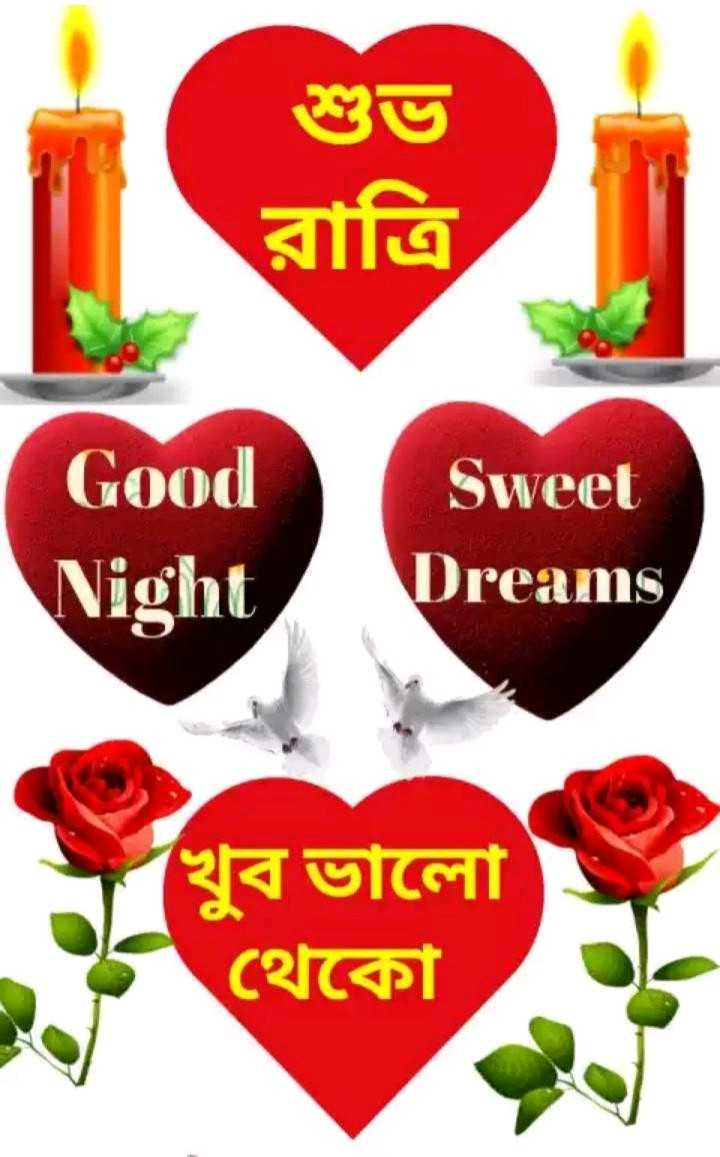 🌑শুভ রাত্রি - শুভ রাত্রি Good Night Sweet Dreams খুব ভালাে থেকো - ShareChat