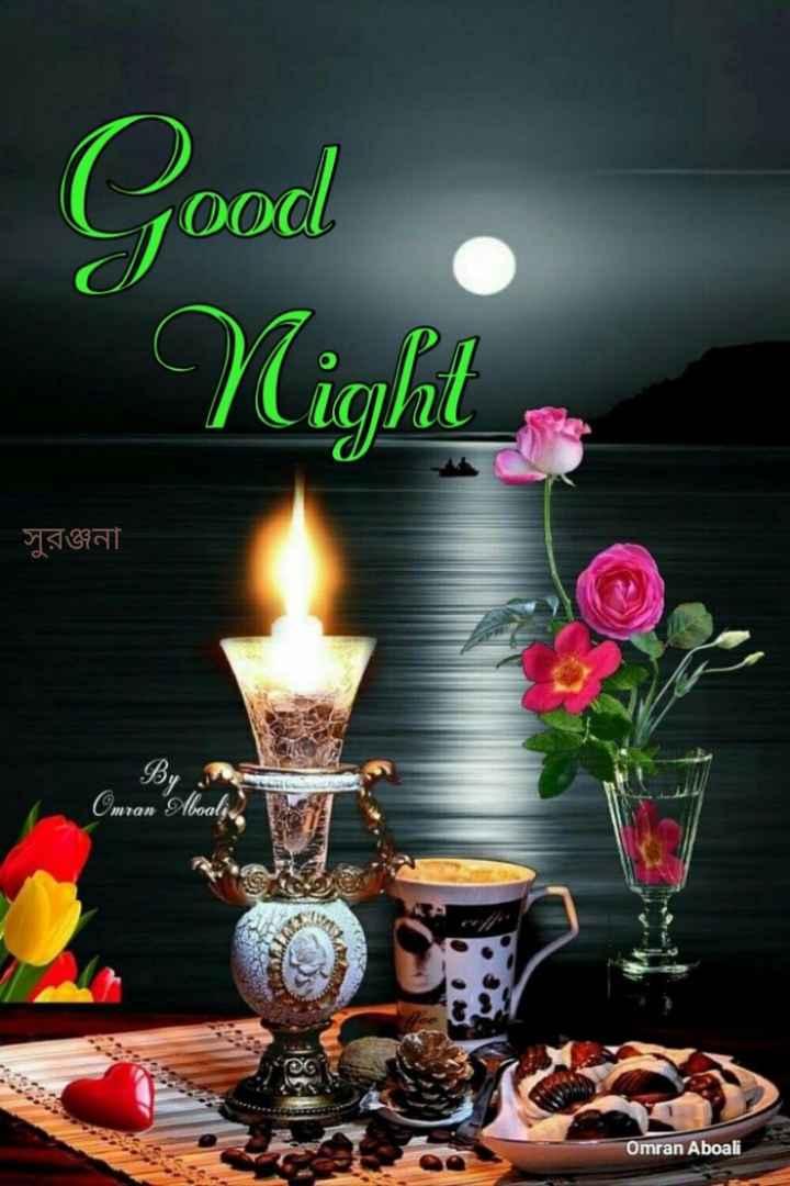 🌑শুভ রাত্রি - Good Nights সুরঞ্জনা Facest Omran Aboali - ShareChat