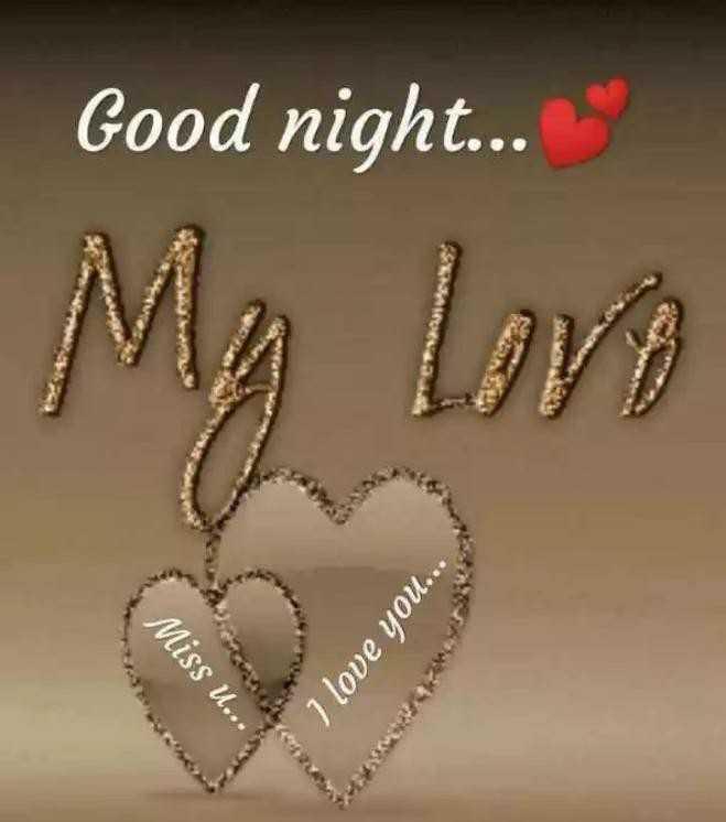 🌑শুভ রাত্রি - Good night . . . My love Miss U . . . $ I love you . . . - ShareChat