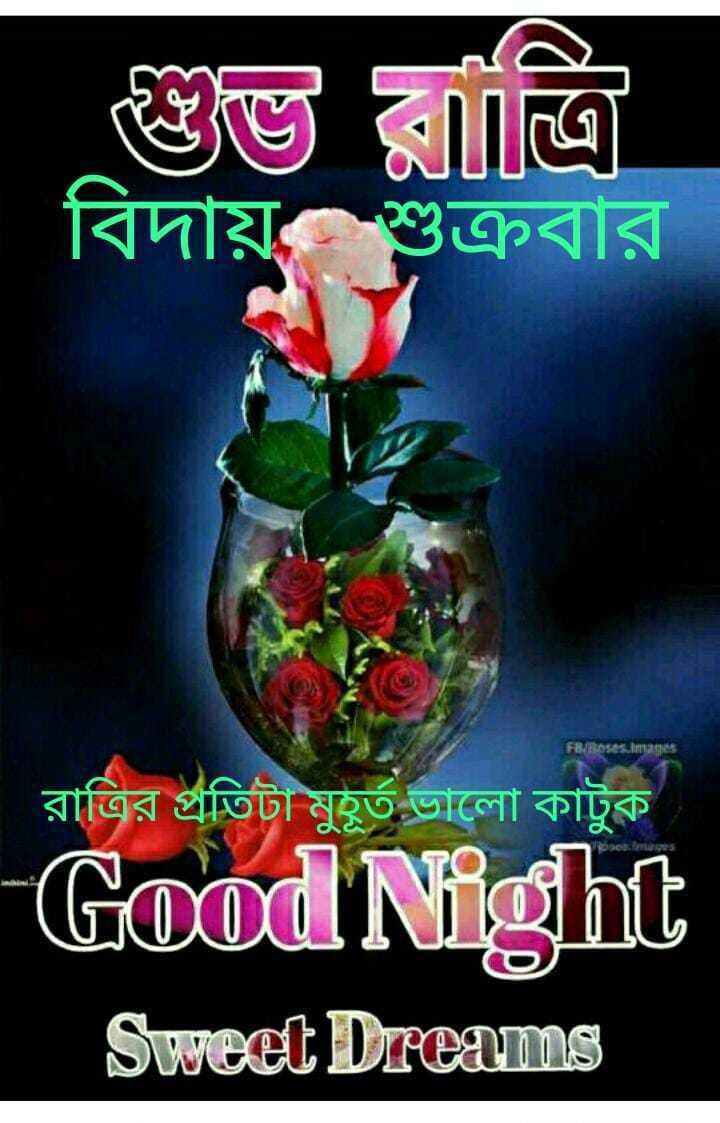 🌟🌟🌟🌟 শুভ রাত্রি 🌟🌟🌟🌟 - | বিদায় শুক্রবার রাত্রির প্রতিটা মুহূর্ত ভালাে কাটুক Good Night Sweet Dreams - ShareChat