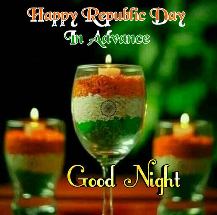 🌑শুভ রাত্রি - Happy Republic Day m Advance Good Night - ShareChat