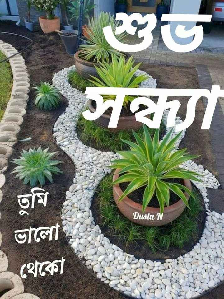 🌗শুভ সন্ধ্যা - শুভ সথা Dustu N তুমি ভালাে । থেকো - ShareChat