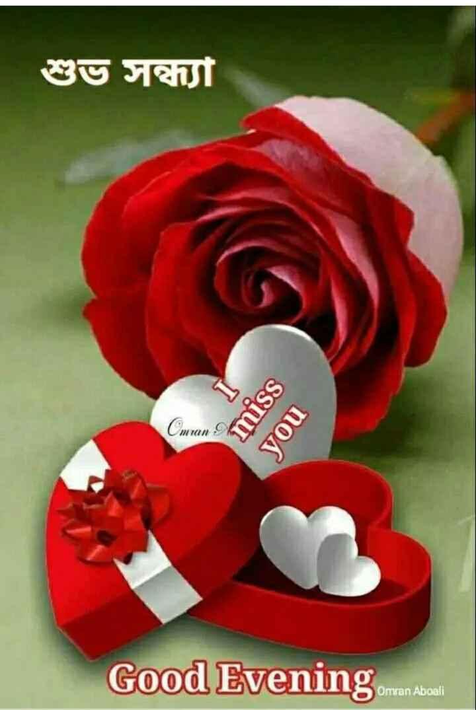 🌗শুভ সন্ধ্যা - শুভ সন্ধ্যা ssu you Good Evening omran Aboal - ShareChat