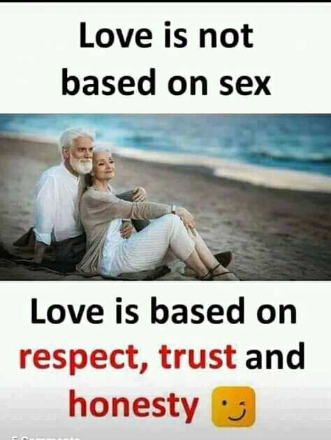 👫সম্পর্ক - Love is not based on Love is based on respect , trust and honesty : 3 - ShareChat