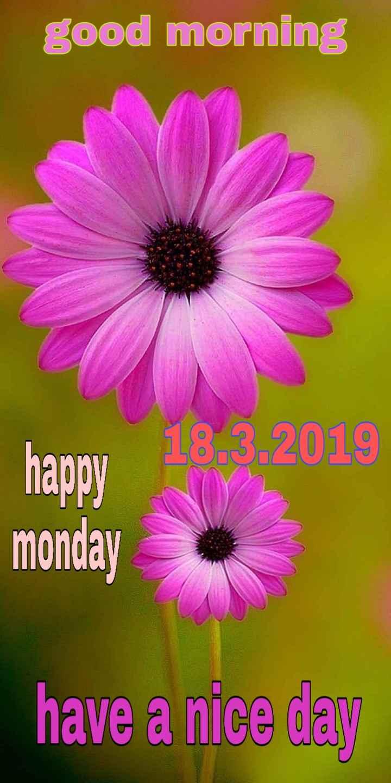 🌞সুপ্রভাত - good morning happy 18 . 3 . 2019 monday have a nice day - ShareChat