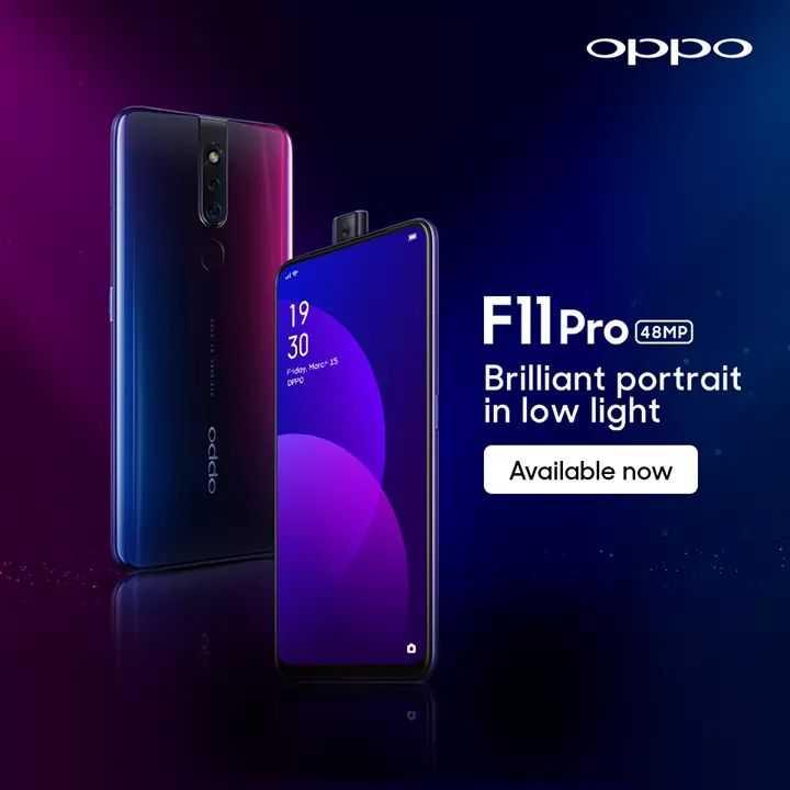 🌞সুপ্রভাত - OPPO F11 Pro 48MP Brilliant portrait in low light occio Available now - ShareChat
