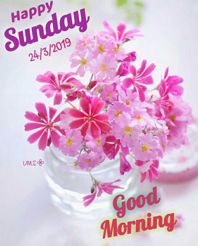 🌞সুপ্রভাত - Happy Sunday , 24 / 3 / 2019 UMIO Good Morning , - ShareChat