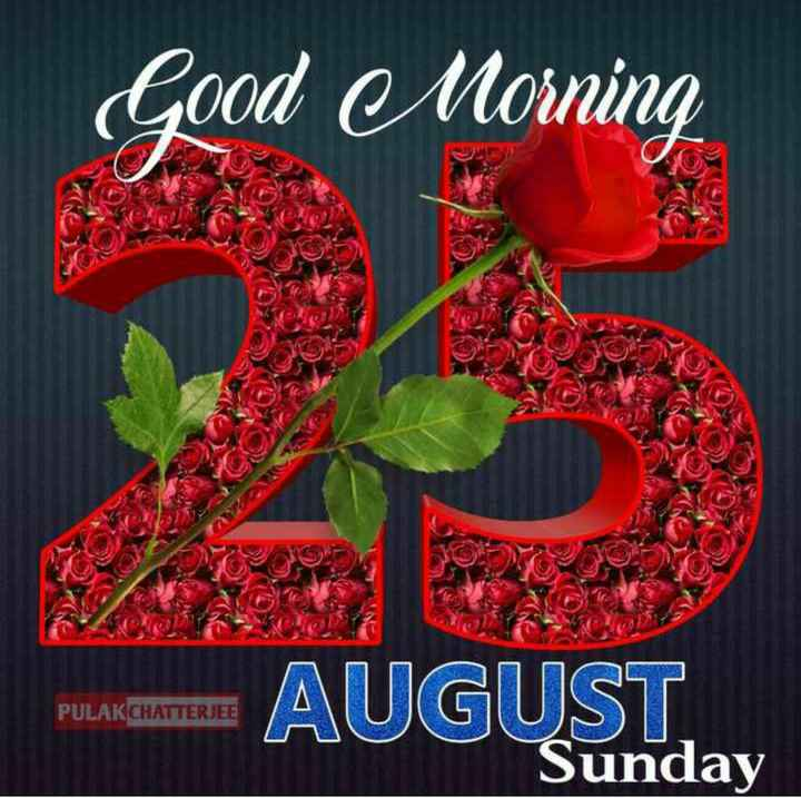 🌞সুপ্রভাত - Cood Morning putadoras AUGUST . PULAKCHATTERJEE Sunday - ShareChat