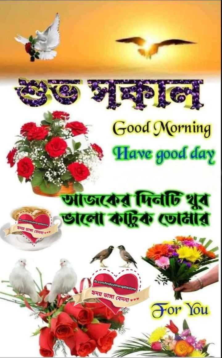 🌞সুপ্রভাত - Good Morning Have good day আজকের দিনটি খুব ভালো কাটুক তোমার fb . com / hridoybhangabedona হৃদয় ভাঙ্গা বেদনা fb . com / hridoybhangabedona হৃদয় ভাঙ্গা বেদনা For You - ShareChat