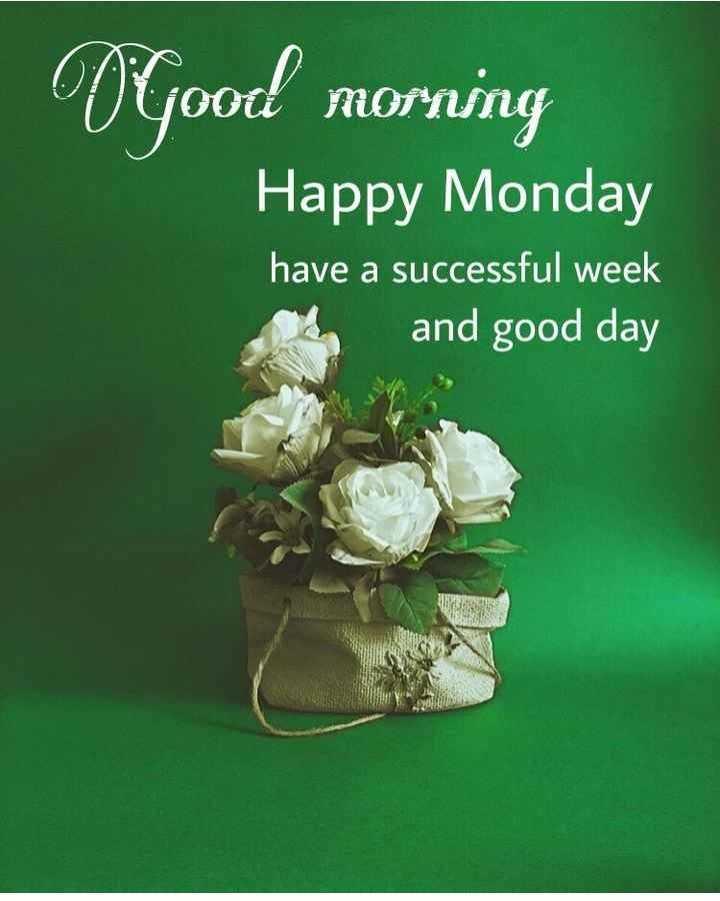 🌞সুপ্রভাত - Good morning Happy Monday have a successful week and good day - ShareChat