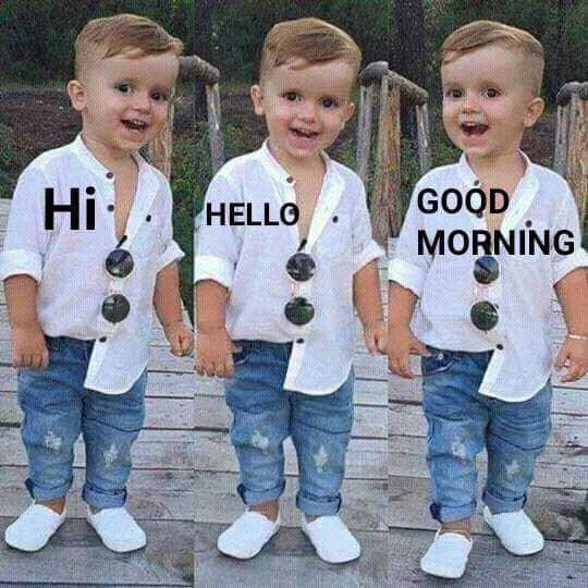 🌞সুপ্রভাত - Hi - HELLO HELLO GOOD MORNING - ShareChat