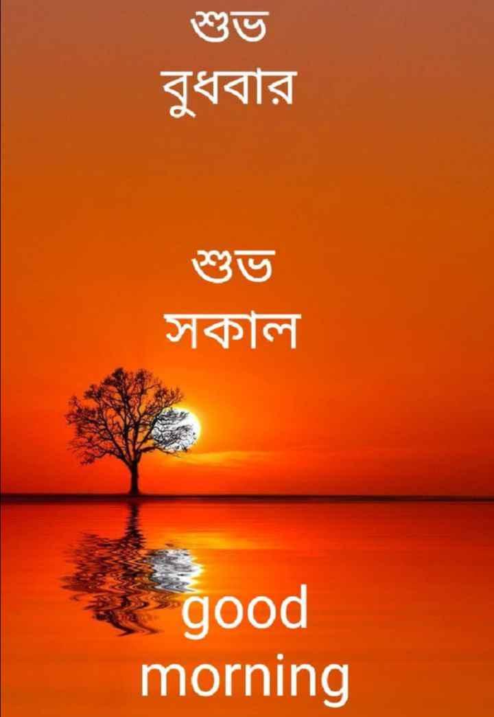 🌞সুপ্রভাত - শুভ বুধবার সকাল good morning - ShareChat