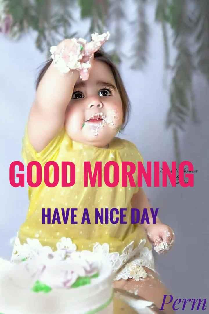 🌞সুপ্রভাত - GOOD MORNING HAVE A NICE DAY Perm - ShareChat