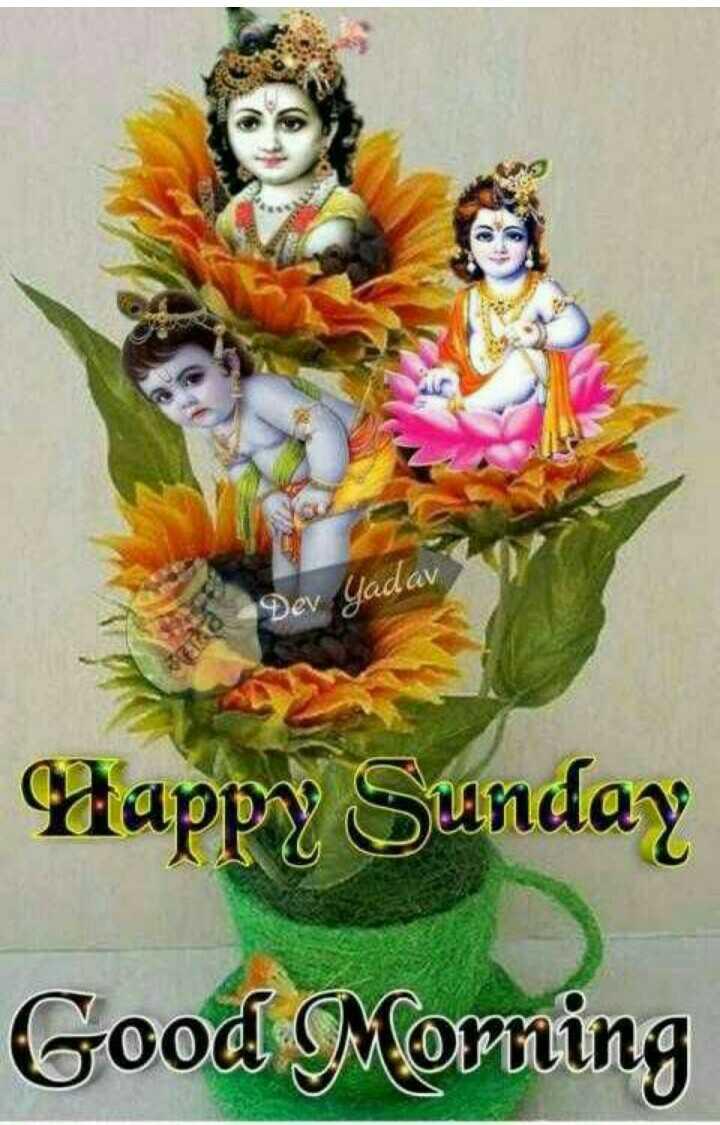 🌞সুপ্রভাত - Dev Yadav Happy Sunday Good Morning - ShareChat