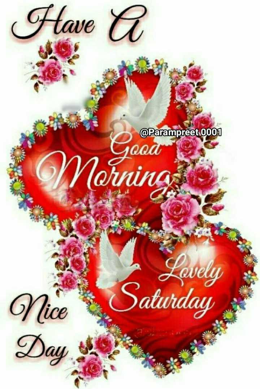 🌞 সুপ্ৰভাত - @ Parampreet 0001 Ice Nornina Nice Lovely Jaturday Day - ShareChat