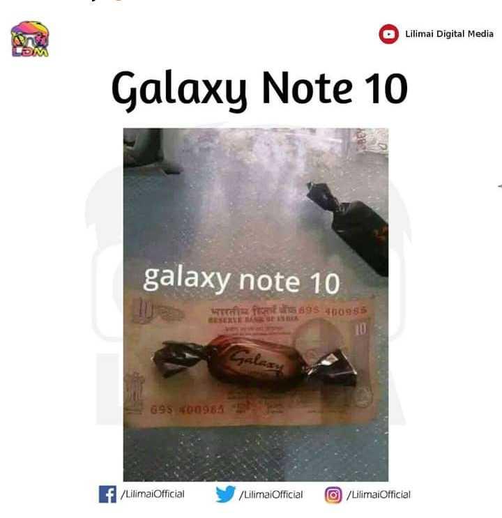 😂 হাস্যকৰ ফটো - O Lilimai Digital Media Galaxy Note 10 galaxy note 10 698 400985 G9S 400965 f / LilimaiOfficial / Lilimai Official 0 / Lilimai Official - ShareChat