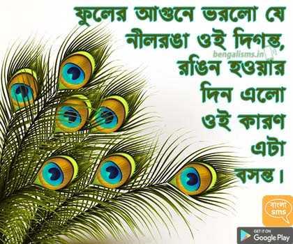 হোলি জোকস - bengalisms . in ফুলের আগুনে ভরলাে যে নীলরঙা ওই দিগন্ত , রঙিন হওয়ার দিন এলাে ওই কারণ এটা ) : ) At , Google Play - ShareChat