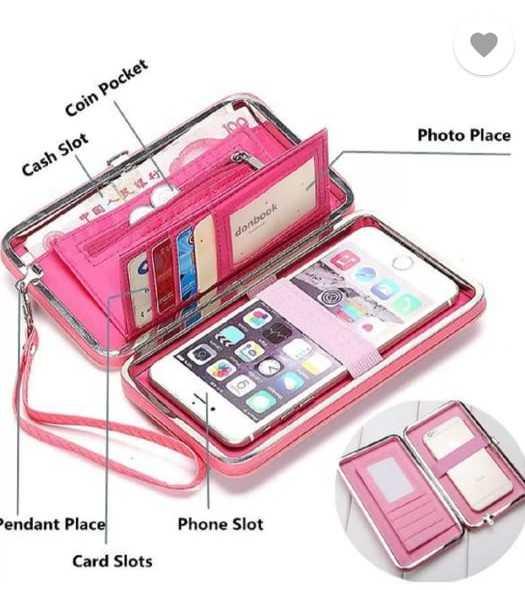 👛হ্যান্ডব্যাগ - Photo Place Coin Pocket Cash Slot AB Pendant Place Phone Slot Card Slots - ShareChat