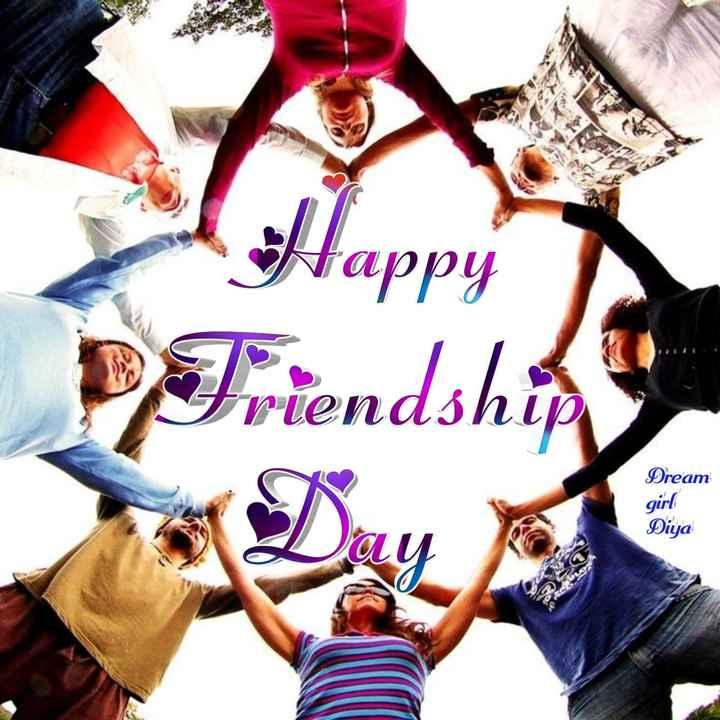 👬 হ্যাপি ফ্রেন্ডশিপ ডে 👬 - Happy Friendship Dream girl Diya - ShareChat
