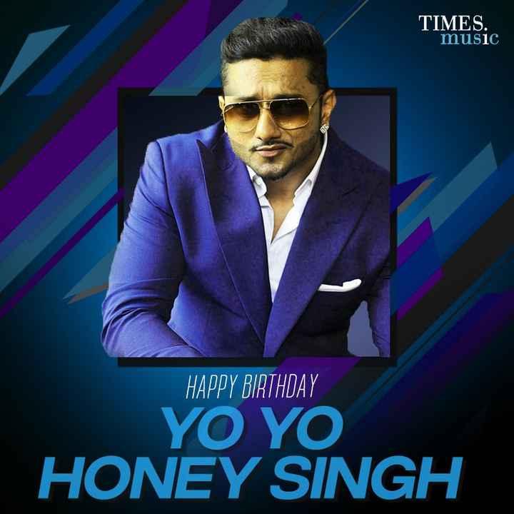 🎂 হ্যাপি বার্থডে - TIMES . music HAPPY BIRTHDAY YO YO HONEY SINGH - ShareChat