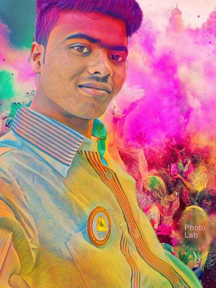 হ্যাপি হোলি - TOLAR PHOT BAPP Photo Lab PHOT OME TOLAB - ShareChat