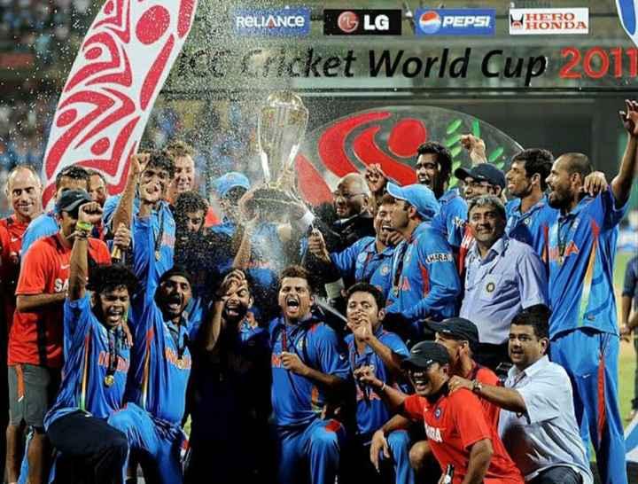 🏅২০১১ বিশ্বকাপ জয়🏆 - RELIANCE - GLG PEPSI MISRBA CC Cricket World Cup 2017 ANARAK - ShareChat