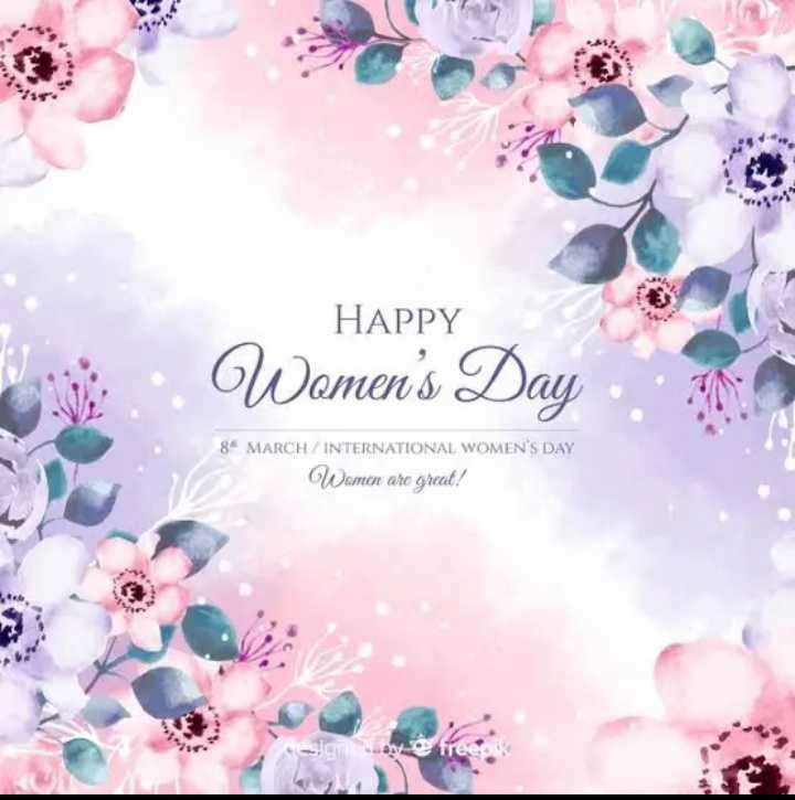 👭 ਅੰਤਰਰਾਸ਼ਟਰੀ ਮਹਿਲਾ ਦਿਵਸ 👵🏻 - HAPPY Women ' s Day 8 MARCH / INTERNATIONAL WOMEN ' S DAY Women are great ! - ShareChat