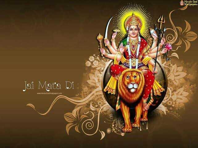 🚩ਕਰਤਾਰਪੁਰ ਲਾਂਘੇ ਦਾ ਉਦਘਾਟਨ 🙏 - Hindu God Wallpaper Jai Mata Di . - ShareChat