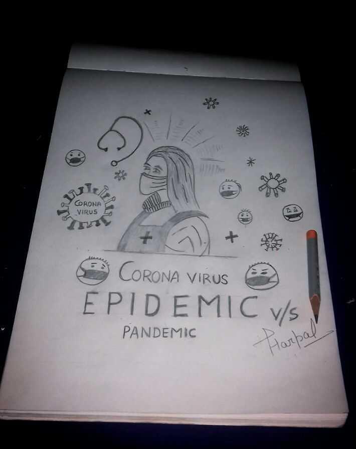 😂 ਕੋਰੋਨਾ ਵਾਇਰਸ Memes - CORONA VIRUS LA CORONA VIRUS 3 EPIDEMIC vs PANDEMIC Harpal - ShareChat