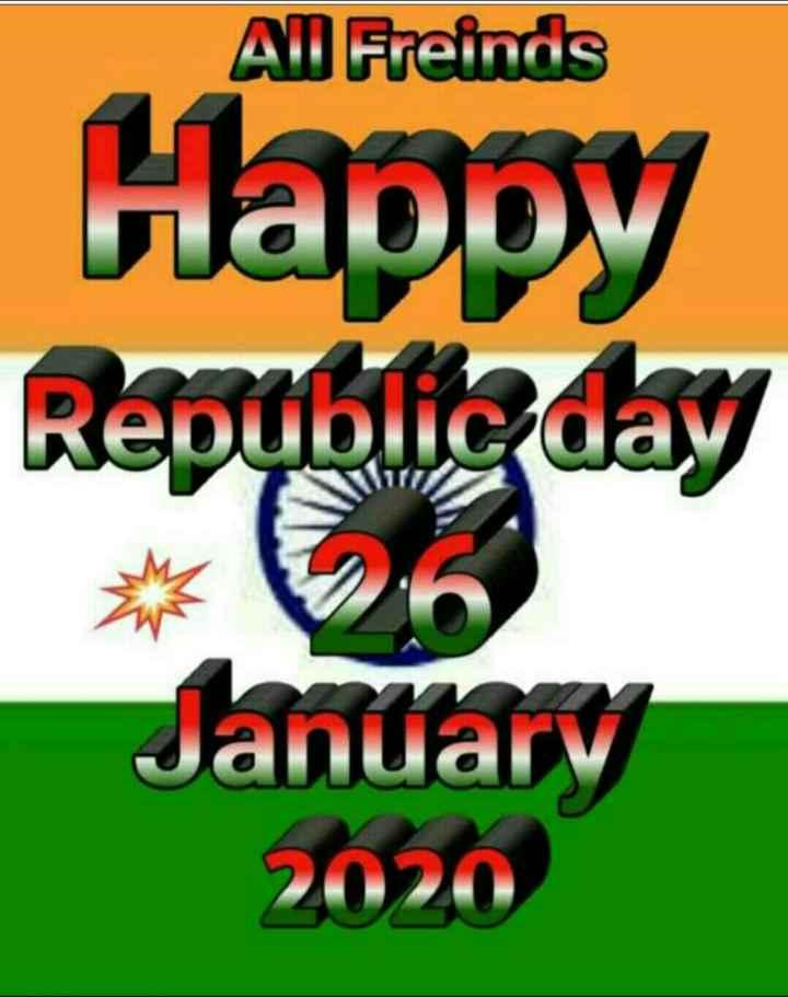 🇮🇳 ਗਣਤੰਤਰ ਦਿਵਸ ਦੀਆਂ ਵਧਾਈਆਂ - Al Freinds Happy Republic day January 2020 - ShareChat