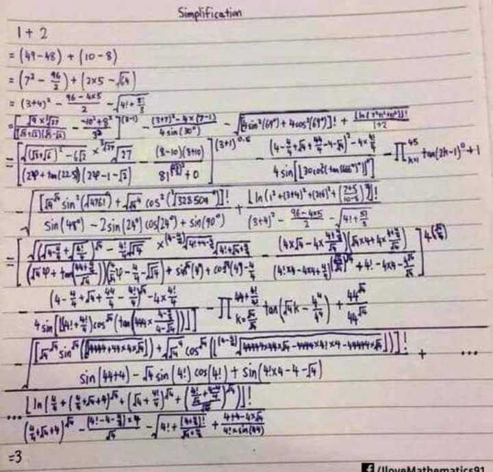 📐ਗਣਿਤ 2.0 ਡੇ 📏 - Simplification I + 2 = ( 41 - 48 ) + / 10 - 8 ) Fax + 972 - 1 ( 797 ) ax byk - osin ( 18 + ) * % ) + 4605 - 467 ] ! + ( kr 799 ! Jan - LF * * 77 ( 8 - re ) ( Shiv ( 34 ) * ( * * * * * * * * * * * * * [ ( 22 + ( 125 ) ( 24 - 1 - 6 ) gift to 4sinſ Location like ' 1 ' ] [ * sin ( 14750 ) + for cos * ( 7528501 ] ! [ ln ( + 34 ) * + 213 ( 0 ) ) ! sin ( 484 ) - 2sin ( 24 ) 60s / 249 + 550 / 90° ) ( s + 4 * - . - xhamia ( 1856 - 6 * 6 * * * 1418 ) sin ( 4 + 4 ) - Jasin ( 43 ) cos ( 4 ! ) + sin ( 4x4 - 4 - 56 ) Lin ( * * ( 3 * 5 = 956 ( 5 * * 5 ! - 3 - ShareChat