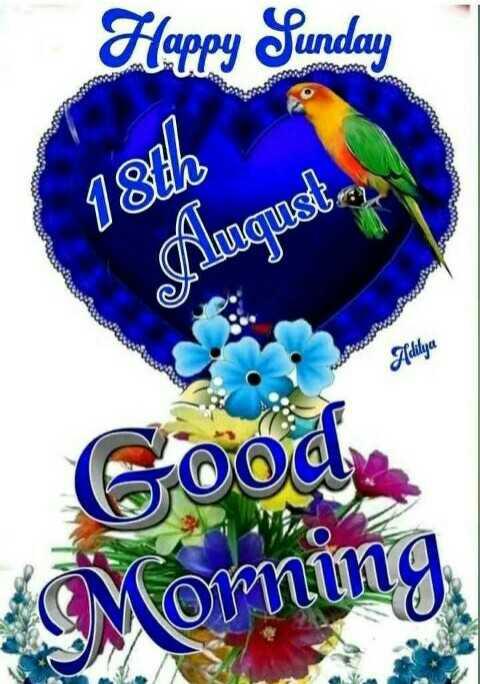 🌇ਗੁੱਡ ਈਵਨਿੰਗ - Flappy Sunday 18th Augusta , Aditya Goody Moming - ShareChat