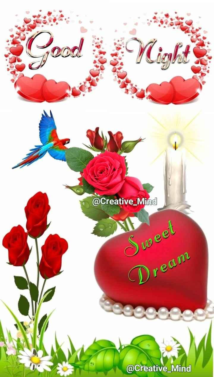 🌙  ਗੁੱਡ ਨਾਇਟ - @ Creative _ Mind weet Dream @ Creative _ Mind - ShareChat