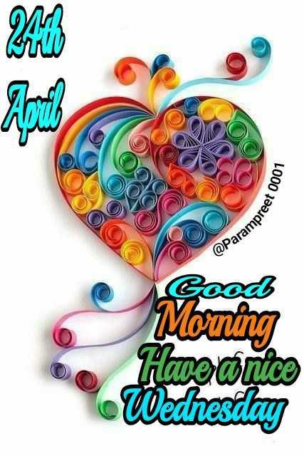 🌅 ਗੁੱਡ ਮੋਰਨਿੰਗ - OOC OOO Parampree Good Morning Have a nice Wednesday - ShareChat