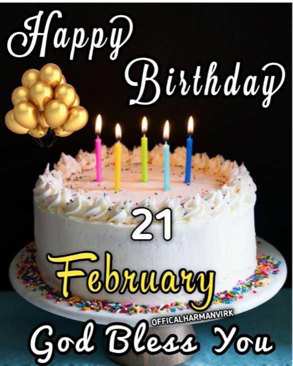 🎂 ਜਨਮਦਿਨ - Happle Birthdap 27 February God Bless You OFFICALHARMANVIRK - ShareChat