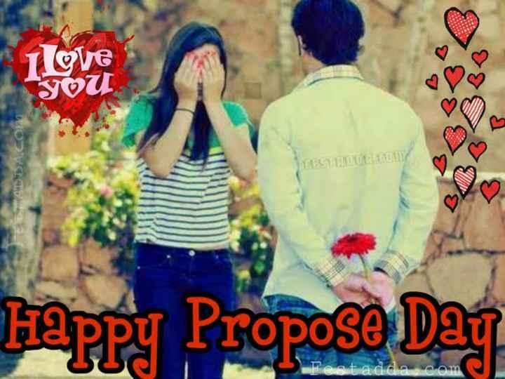 💖 ਦਿਲ ਦੇ ਜਜਬਾਤ - love You LADDA com SPES 120 AH Happy Propose Day Festadda com - ShareChat
