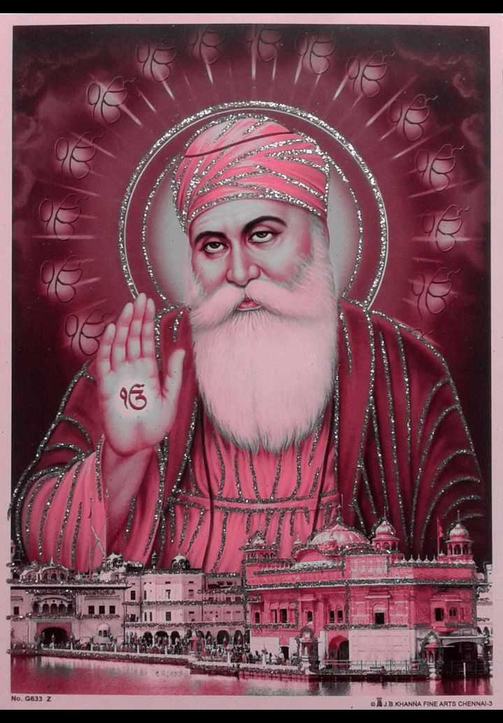 🙏 ਧਾਰਮਿਕ ਤਸਵੀਰਾਂ - UPAN No . 6633 Z JUB KHANNA FINE ARTS CHENNAI - 3 - ShareChat