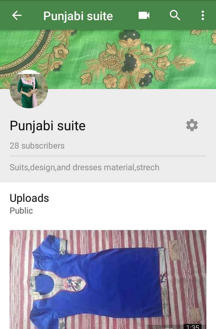 👡  ਪੰਜਾਬੀ ਜੁੱਤੀ ਅਤੇ ਸੂਟ - + Punjabi suite Q ! Punjabi suite 28 subscribers Suits , design , and dresses material , strech Uploads Public - ShareChat
