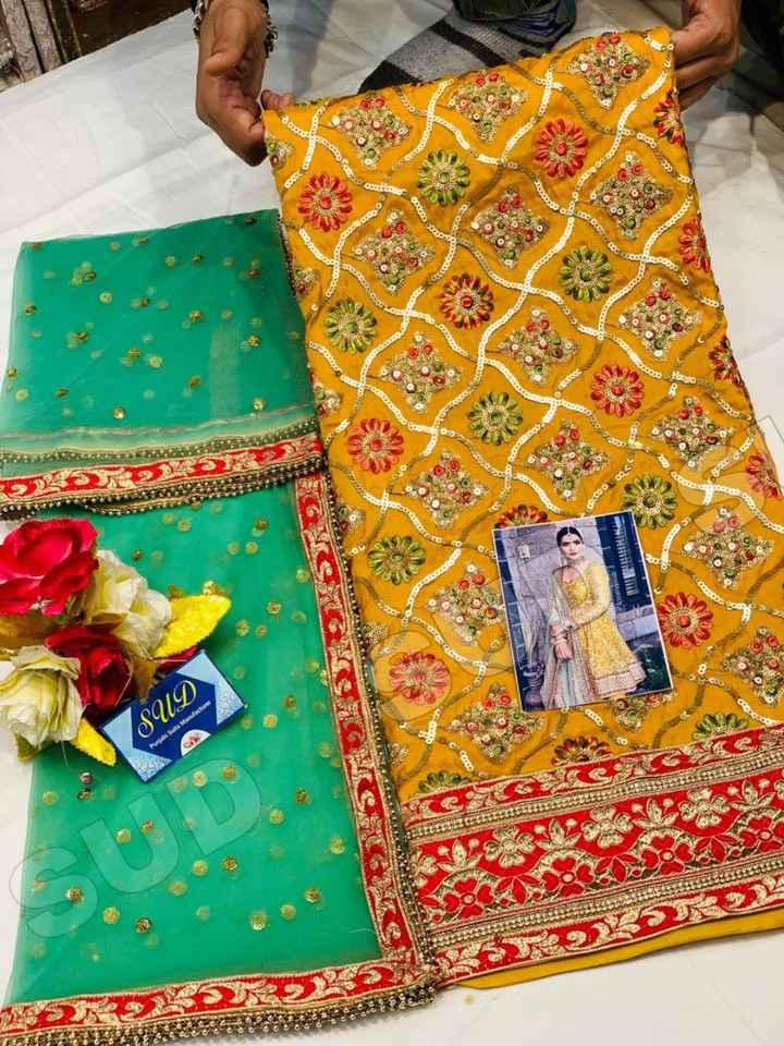 👡ਪੰਜਾਬੀ ਜੁੱਤੀ ਅਤੇ ਸੂਟ - SUD Punjabi Suits Manufacture - ShareChat