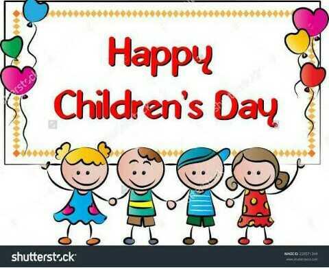 🤩 ਬਾਲ ਦਿਵਸ ਦੀਆਂ ਵਧਾਈਆਂ 💐 - . . . Happy s Children ' s Day 1 rstsc IL TI TI TL MADED 2004 shutterstock - ShareChat
