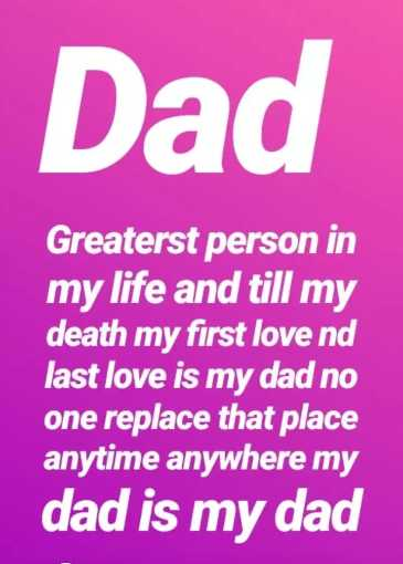 💝ਬੇਬੇ ਬਾਪੂ - Dad Greaterst person in my life and till my death my first love nd last love is my dad no one replace that place anytime anywhere my dad is my dad - ShareChat