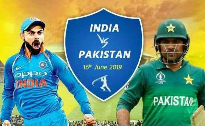 🏏🇮🇳 ਭਾਰਤ vs ਪਾਕਿਸਤਾਨ 🇵🇰 - INDIA PAKISTAN 16th June 2019 oppo INOMA PAKISTAN - ShareChat