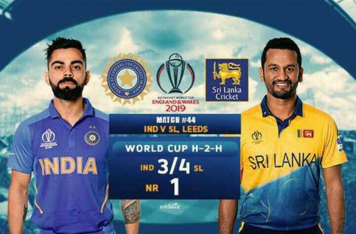 🏏 🇮🇳 ਭਾਰਤ vs ਬੰਗਲਾਦੇਸ਼ 🇧🇩 - 2009 Sri Lanka Cricket ENGLAND & WALES 2019 MATCH # 44 IND V SL , LEEDS INDIA WORLD CUP H - 2 - H IND 3 / 4 SL SRI LANKA NR Celebir - ShareChat