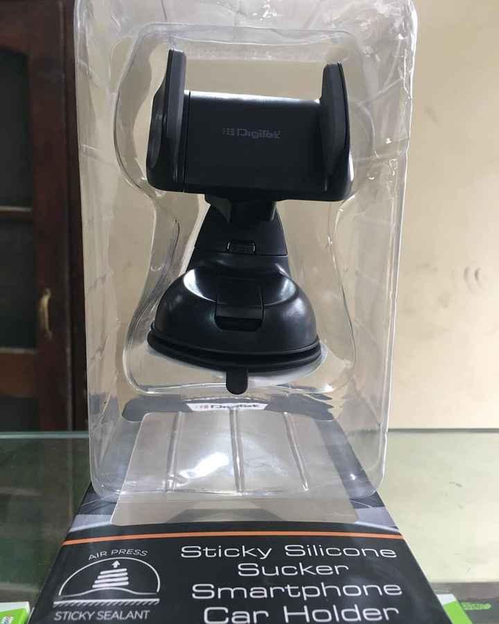 📱ਮੇਰਾ ਸਮਾਰਟਫੋਨ - E Digilek AIR PRESS Sticky Silicone Sucker Smartphone Car Holder STICKY SEALANT - ShareChat